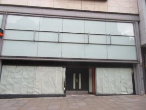 Asbestos surveys Manchester - Nike store on Market Street Manchester