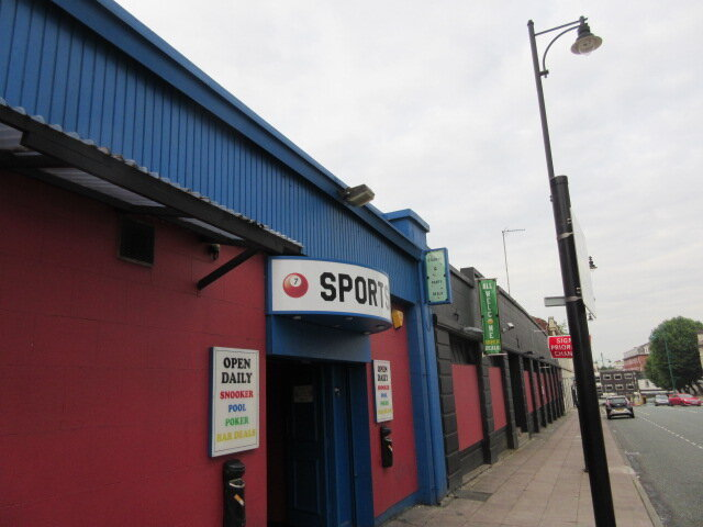 Asbestos surveys Stockport - Crucible snooker club in Stockport