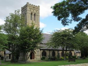 Asbestos surveys Huddersfield - Lepton Parish Church near Huddersfield
