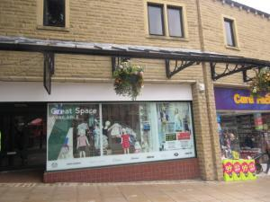 Asbestos surveys Halifax - Woolshops shopping centre in Halifax