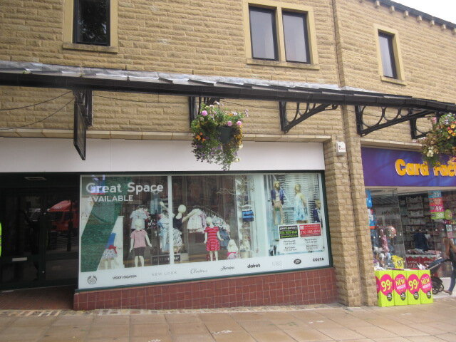 Asbestos surveys Halifax - Woolshops shopping centre in Halifax
