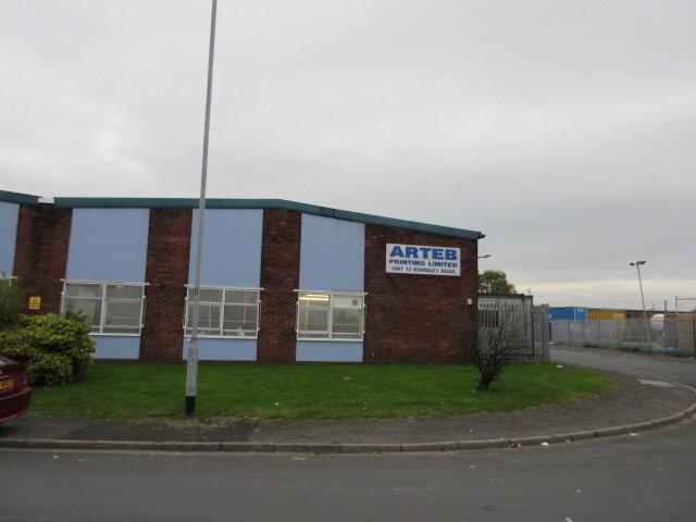 Asbestos surveys St Helens - Warehouse on Brindley Road in St Helens