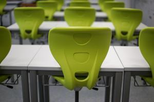 Asbestos in schools - classroom